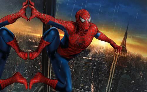 Фото картинки обои человек паук