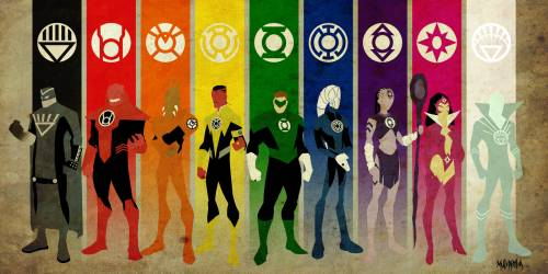 Знаки супергероев